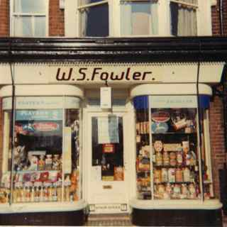 Fowler's sweet shop Hatfield Road